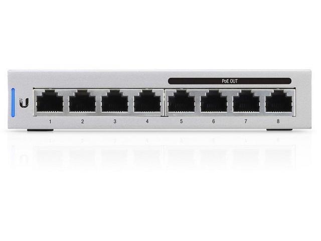 Ubiquiti Networks US-8-60W-US Fully Managed Gigabit Switches with 4-PoE  Ports - Newegg com