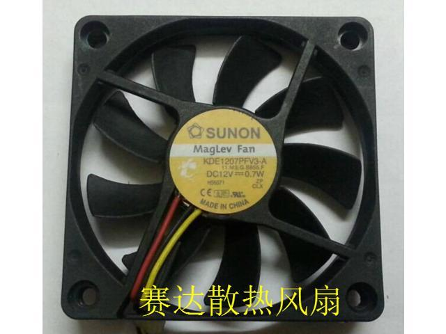 DELTA DC 12V 0.2A Brushless Fan 12V 5CM 50 x 50 x 15MM 3PIN AFB0512HHB for CPU