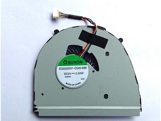 SUNON EG50050V1-C040-S99 5V 2.5W 4 Wires 4Pins Connector Cooling fan ...