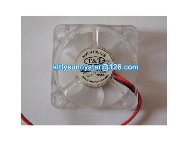 T&T 4010 MW-410L12S 12V 0.07A 2Wire Graphic card fan,Cooling Fan ...