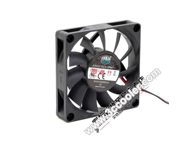 Cooler Master 7015 A7015-15CA-2PN-F1 DF0701505SELN 5V 0.20A 2 Wires ...