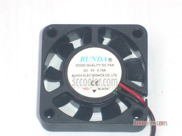 computer fan RUNDA 12V 0.12A 4CM 4010 Miniature cooling fan 2wire 2-pin