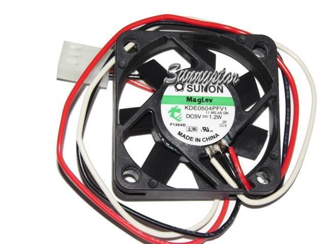 SUNON GM0502PFV1-8 fan 25*25*10mm 5V 0.6W 3pin