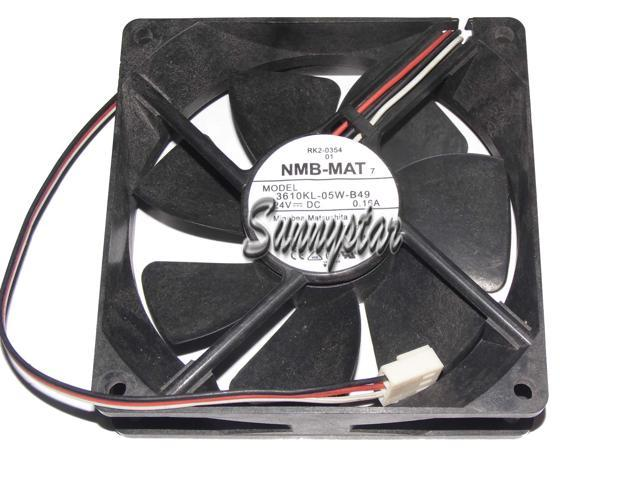 Square DC Cooler of NMB 92*25mm 3610KL-05W-B49 with 24V 0 16A 3-Wires 3  Pins case fan inverter converter cooler - Newegg com