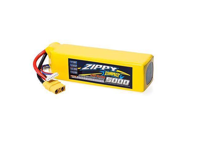 ZIPPY Compact 5000mAh 6S 25C Lipo Pack w/ XT90 - Newegg com