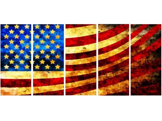 God Bless America Flag Canvas Art Pt3017 Neweggcom