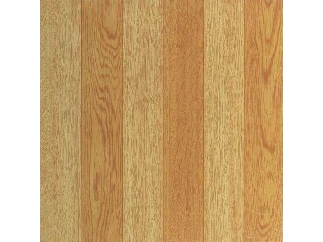 Tivoli Light Oak Plank Look 12 Inch X 12 Inch Self Adhesive Vinyl