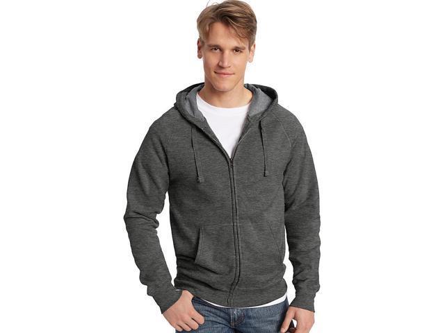 338e34ac8 Hanes Men's Nano Premium Lightweight Full Zip Hoodie Size 2XL ...