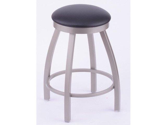 Amazing 802 Misha 18 Vanity Stool With Anodized Nickel Finish Rein Coffee Seat And 360 Swivel Newegg Com Creativecarmelina Interior Chair Design Creativecarmelinacom