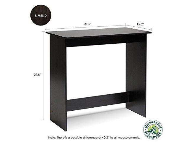 Espresso FURINNO Simplistic Study Table New Version