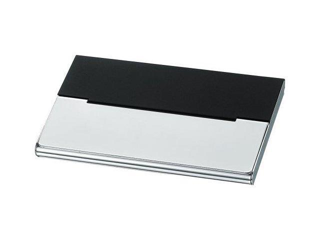 Visol v906b malta black matte silver plated business card case visol v906b malta black matte silver plated business card case colourmoves