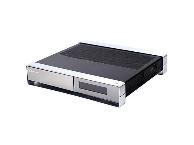 SILVERSTONE Milo Series SST-ML02B-MXR MoDT Micro-ATX, Mini-ITX, DTX Media  Center / HTPC Case - Newegg com