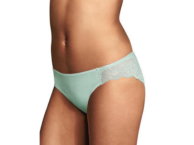 Maidenform® Comfort Devotion® Lace Back Tanga, Blue