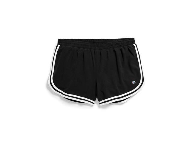 01cdaf6fe Champion Women's Phys. Ed. Shorts, Black/White - Size M - Newegg ...