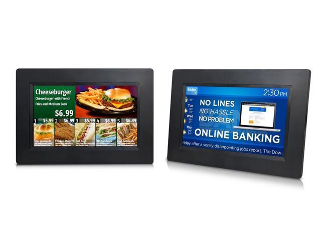 Sungale All-in-One 7 Digital Signage with Cloud Support and LCD Screen  CPF1068 - Newegg com