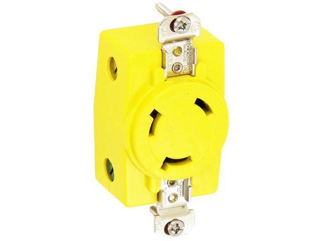 Hbl328dcr Hubbell Hbl328dcr 30a 28v Dc Locking Receptacle