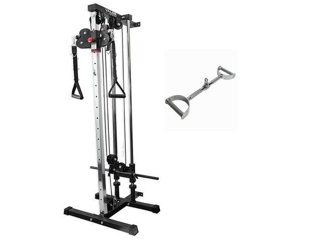 Valor Fitness Mb 24 24 In Straight Lat Bar With Bd 62 Wall Mount Cable Station Newegg Com