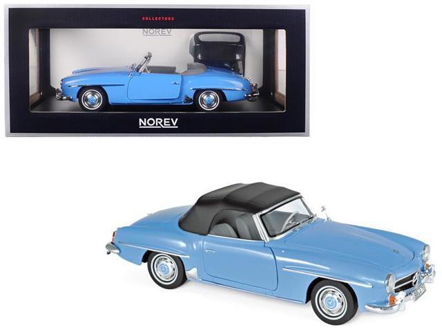 MERCEDES Benz 190 SL 1955 BLU NOREV 1:18 183400