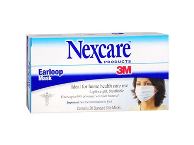 3m nexcare earloop mask