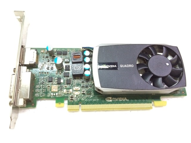0e33474680 Nvidia Quadro 600 1GB 128Bit DDR3 DVI DisplayPort PCI-Express 2.0 Video Card  (no
