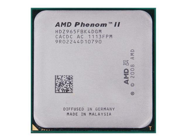 AMD Phenom Ii X4 955 Processor Drivers