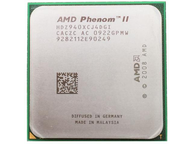 Refurbished Amd Phenom Ii X4 940 3 Ghz Quad Core Processor Hdz940xcj4dgi Socket Am2 125w Desktop Cpu Newegg Com