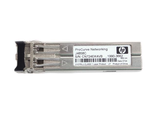 NEW HP HPE J4858C Procurve Gigabit-SX-LC Mini-GBIC SFP Transceiver Module