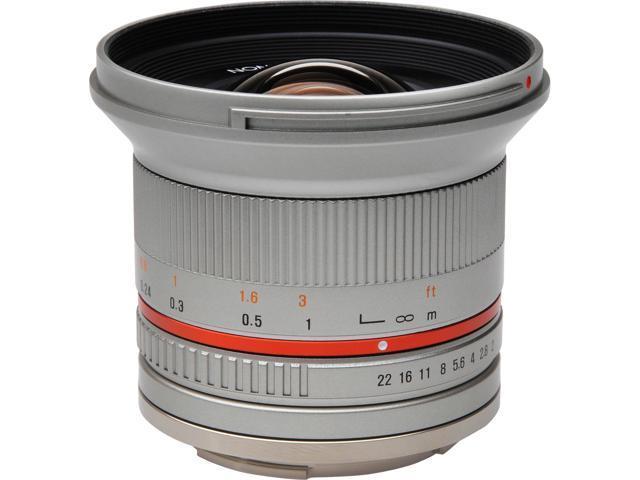 Rokinon 12mm f/2 0 Ultra Wide Angle Lens (Silver) (for Fujifilm X Cameras)  - Newegg com