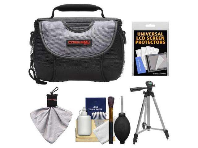 Precision Design Pd C15 Digital Cameracamcorder Case With Tripod