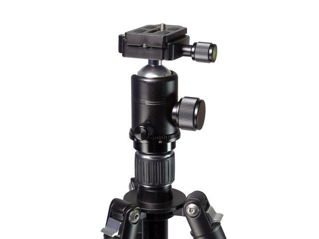Vidpro AT-62 Venture Maxx 62 Professional Aluminum Travel Tripod with Ball Head /& Case