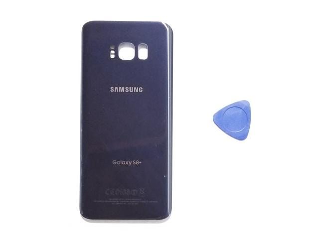 Samsung Galaxy S8 PLUS OEM Orchid Gray Rear Back Glass Lens Battery Door  Grey Housing Cover + Adhesive Replacement For G955 G955F G955A G955V G955P
