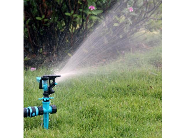 Ueasy Portable Garden Watering System Abs Kits Swing Type Automatic Rotating Water Sprinkler Home Irrigation Sprayer