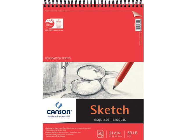 "Pro Art Sketch Book 11/""X14/""-80 Sheets"