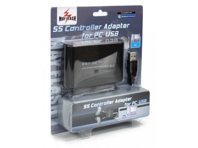 SS Sega Saturn Controller Adapter for PC USB Mayflash - Newegg com