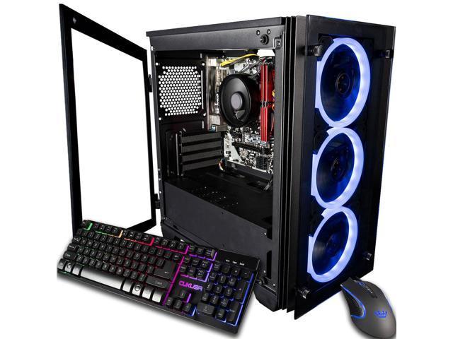 CUK Stratos Micro Business Desktop (AMD Ryzen 3 2200G +