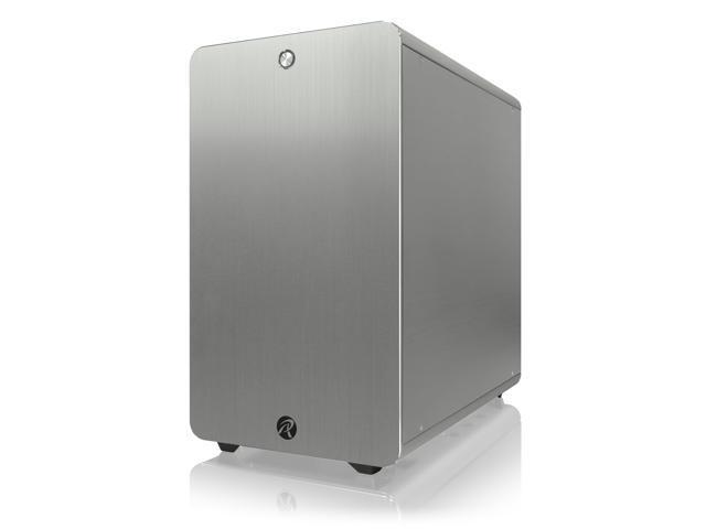 RAIJINTEK THETIS SILVER CLASSIC, an Alu  ATX case, supports max  280mm  length VGA card, 170mm height CPU coolers, 4x HDDs ,240mm radiator on top,  1x