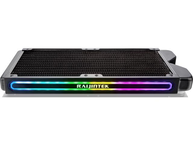 TEOS 240A RBW, 240mm Copper radiator with Addressable RGB, compatible with  ASUS/MSI 5V ADD header  - Newegg com