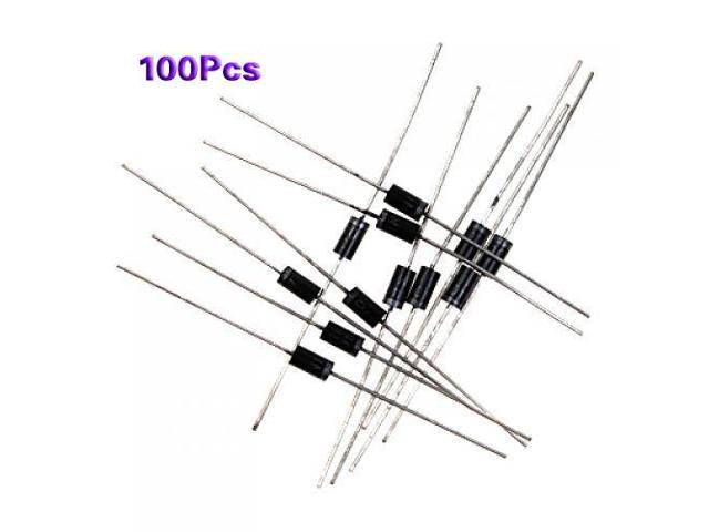 thzy 100 x in4007 do-41 rectifier diode 1a 1000v