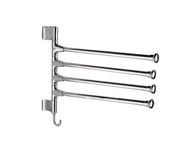 Shopping metal towel rack swinging
