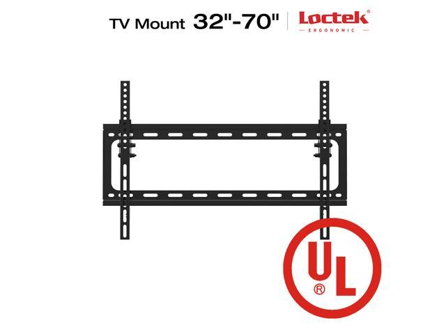 loctek ul listed t2s heavy duty tilt tv wall mount low