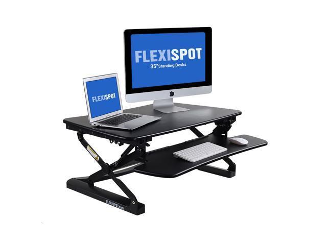 Stand Up Desk >> Flexispot M2b Height Adjustable Stand Up Desk 35 Wide Platform