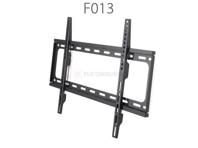 fleximounts heavy duty low profile fixed tv wall mount for