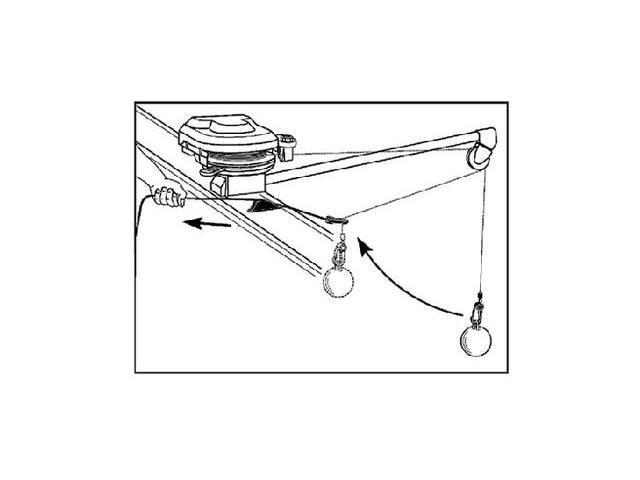 Scotty 3025 Downrigger Weight Retriever - Newegg com