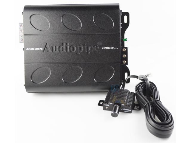 New Audiopipe Apmi-2075 1000 Watt 2 Channel Mini Car Audio Amplifier Sub  Amp - Newegg com
