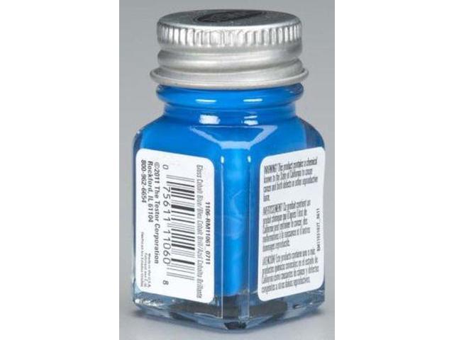 Colbalt Blue Enamel Paint Testors 1/4 Oz Bottle - Newegg.com
