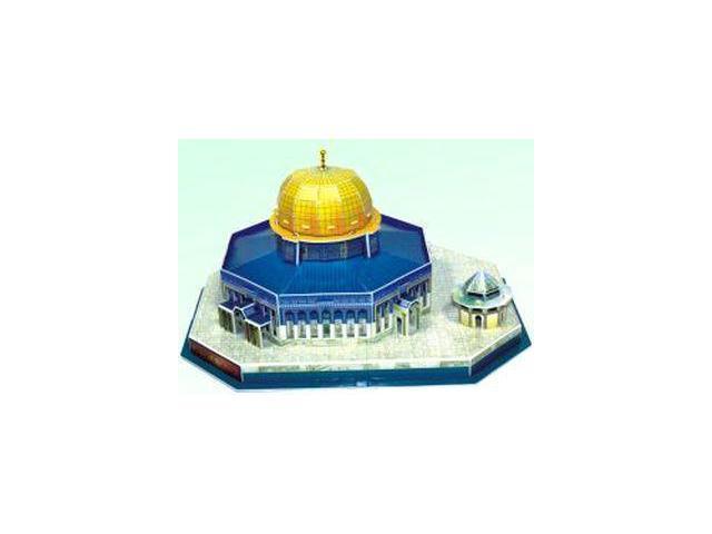 3d Dome Of The Rock Jerusalem Islamic Muslim Mosque Puzzle Kit - Newegg com