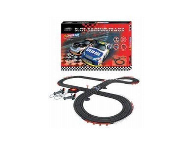 Nascar Style Slot Car Track Ho Scale Race Set - Newegg com