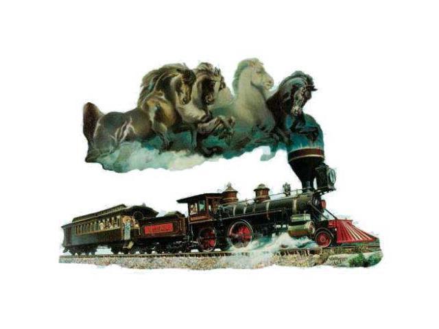 Horse Of Iron Train Shape Puzzle Newegg Com