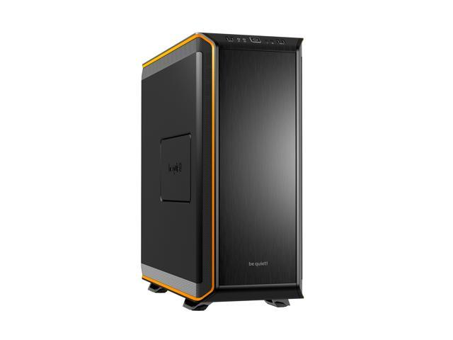 be quiet! DARK BASE 900 ATX Full Tower Computer Chassis - Black/Orange