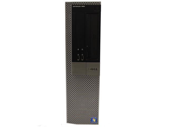 Dell OptiPlex 980 Desktop Computer Intel Quad-Core i7 870 2 93GHz 8 GB DDR3  RAM 128GB SSD WiFi Bluetooth DVD-RW Microsoft Windows 7 Professional